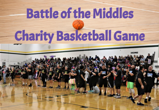 Battle of the Middles Charity Basketball Game