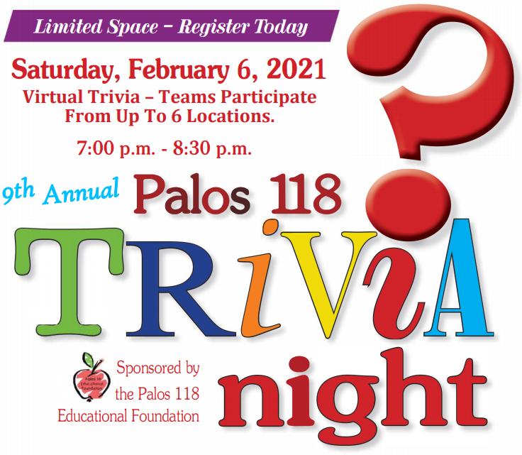 9th annual trivia night
