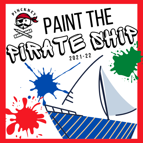 pinckney paint the pirate ship 2021-22